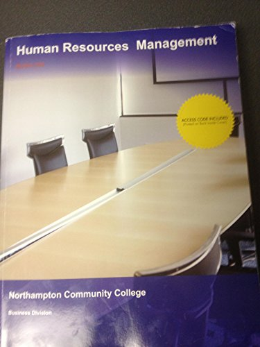 9781308133089: Human Resources Management BUSA 226