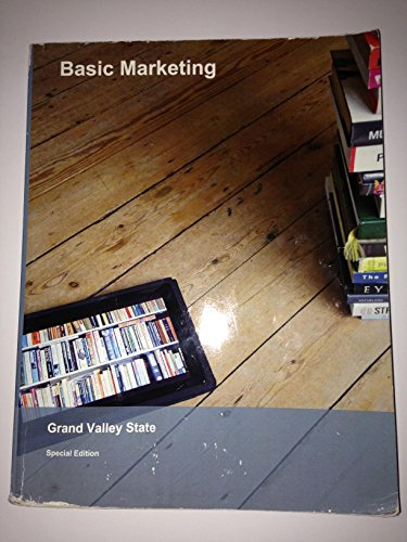 9781308171951: Basic Marketing Grand Valley State Special Edition