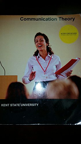 9781308172712: Communication Theory [Custom for Kent State University]