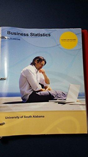 9781308178417: Business Statistics University of South Alabama