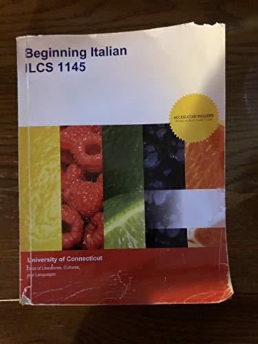 9781308183794: Beginning Italian ILCS 1145, University of Connecticut