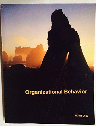 9781308193724: Organizational Behavior (WMU Custom Textbook)