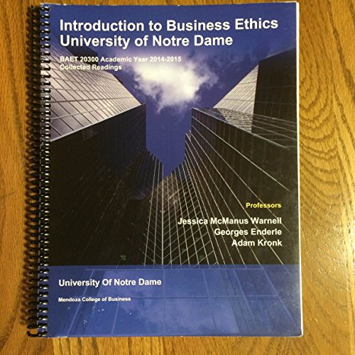 9781308201849: Introduction to Business Ethics