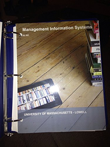 9781308227443: Management Information Systems
