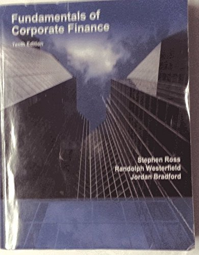 9781308258447: Fundamentals of Corporate Finance (Tenth Edition)