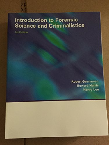 9781308258508: Introduction to Forensic Science and Criminalistics