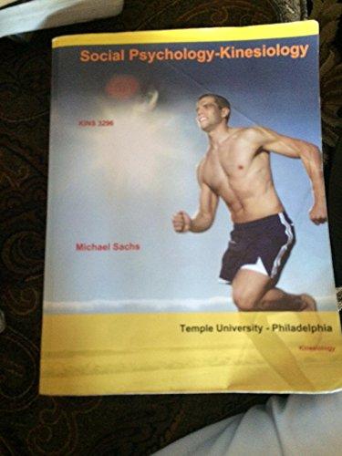 9781308269528: Social Psychology-kinesiology