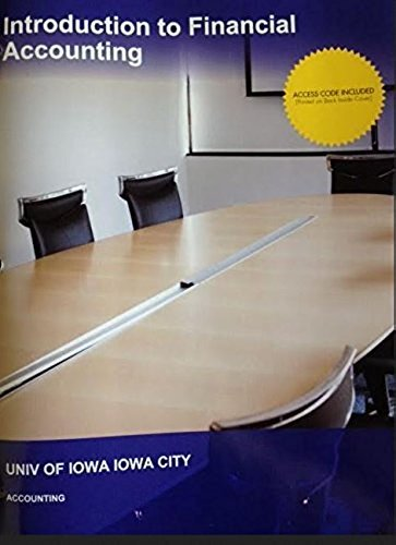 9781308273976: Introduction to Financial Accounting- University of Iowa
