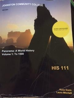 9781308506999: Panorama: A world History Volume 1: to 1500