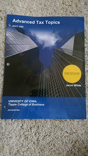 9781308515014: Advanced Tax Topics