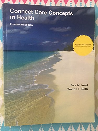 9781308515113: Connect Core Concepts in Health 14th Edition