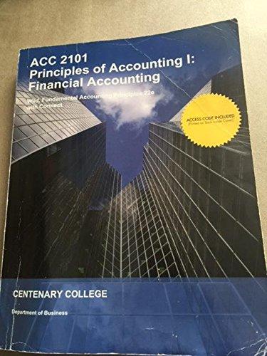 9781308530079: Fundamental Accounting Principles 22 Edition