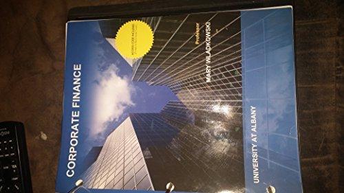 9781308541433: Fundamentals of Corporate Finance