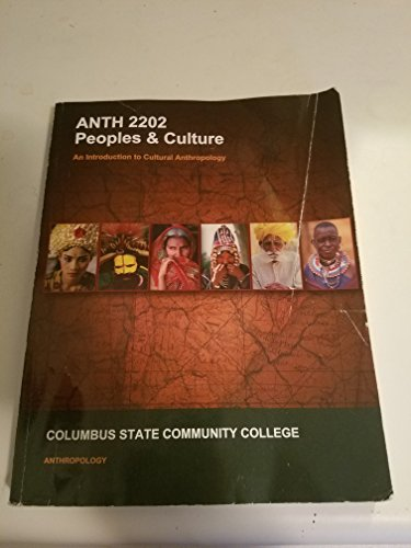 9781308579078: Peoples & Culture, Volume II, ANTH 2202, Columbus State Community College