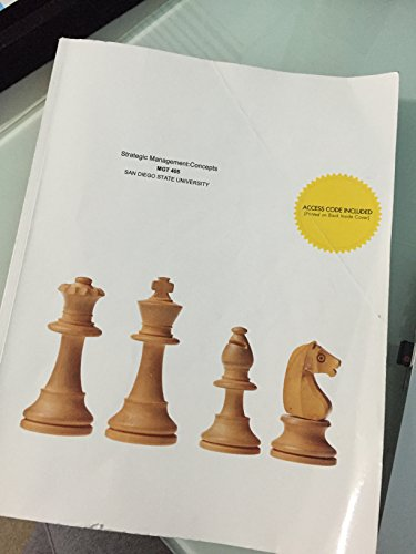 9781308615769: Strategic Management: Concepts MGT 405