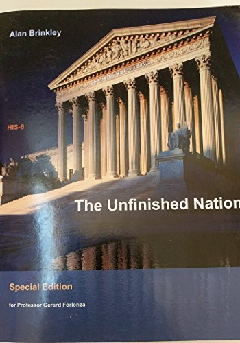 9781308777160: The Unfinished Nation: A Concise History of the American People, Eighth Edition