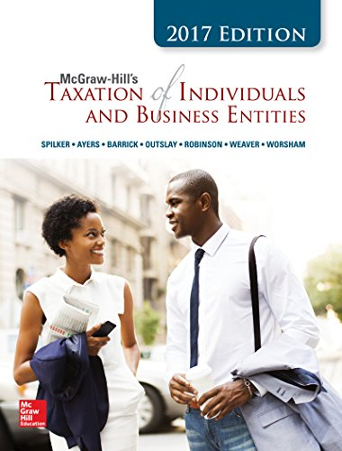 9781308820408: MCGRAW-HILL'S TAXATION OF INDIVIDUALS AND BUSINESS ENTITIES, 2017 EDITION, EIGHT