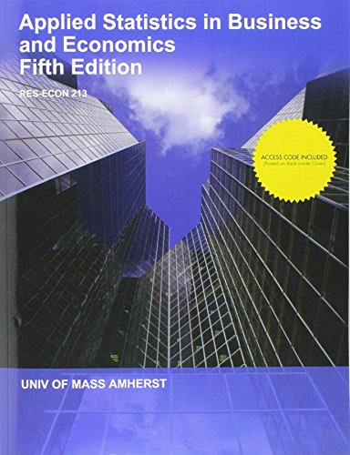 9781308942940: Applied Statistics in Business and Economics with Connect