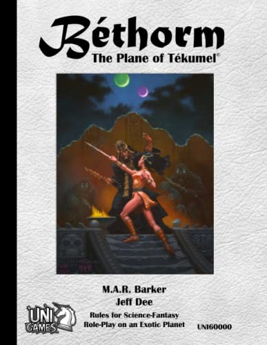 9781312112506: Bethorm: the Plane of Tekumel Rpg
