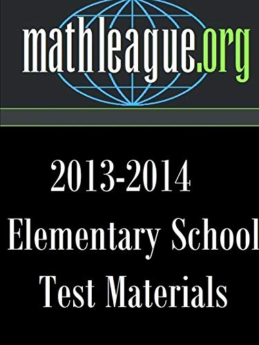 9781312302693: Elementary School Test Materials 2013-2014