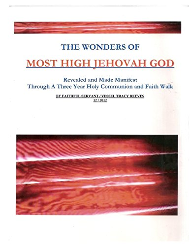 9781312543751: The Wonders of Most High Jehovah God
