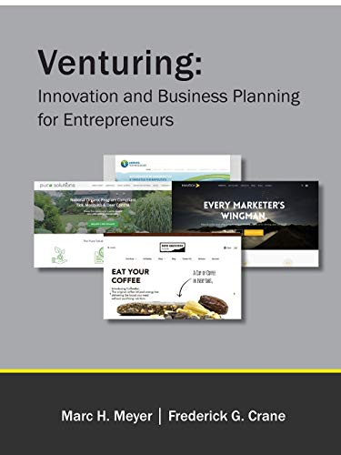 9781312998421: Venturing: Innovation and Business Planning for Entrepreneurs