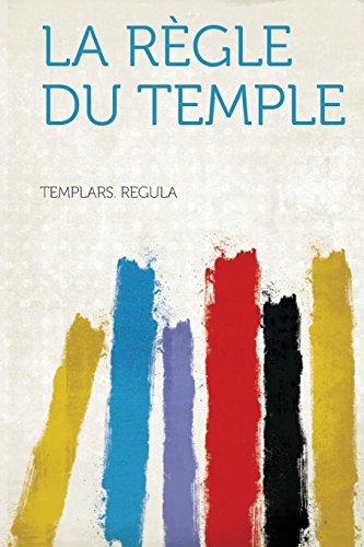 9781313676236: La Regle Du Temple (French Edition)