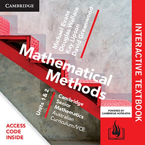 CSM VCE Mathematical Methods Units 1 and 2 Digital Bundle (Interactive Textbook and Hotmaths): ...