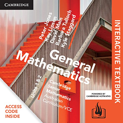 9781316422984: CSM VCE General Mathematics Units 1 and 2 Digital Bundle (Interactive Textbook and Hotmaths)