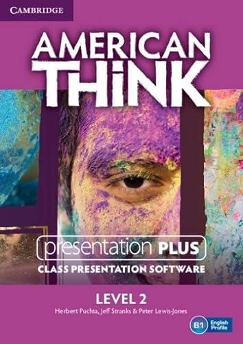 American Think Level 2 Presentation Plus DVD-ROM: Puchta, Herbert, Stranks, Jeff, Lewis-Jones, ...