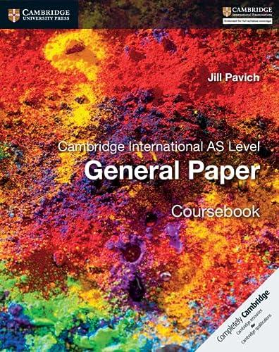 9781316500705: Cambridge international AS level English general paper. Coursebook. Per le Scuole superiori