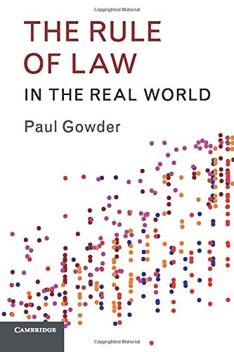 9781316502020: The Rule of Law in the Real World