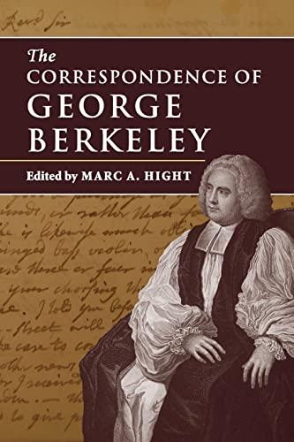 9781316502389: The Correspondence of George Berkeley