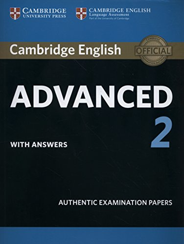 9781316504505: Cambridge English Advanced 2 Student's Book with answers (CAE Practice Tests)