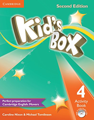 Kids box: Activity Book 4: Caroline Nixon