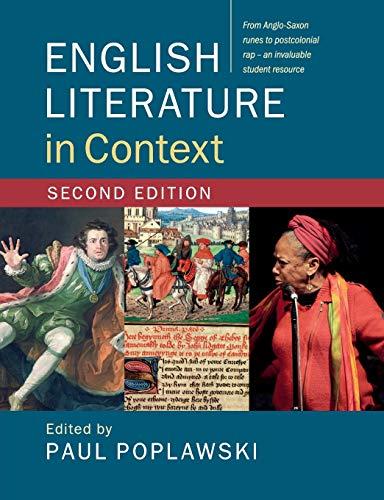 9781316506639: English Literature in Context [Lingua inglese]
