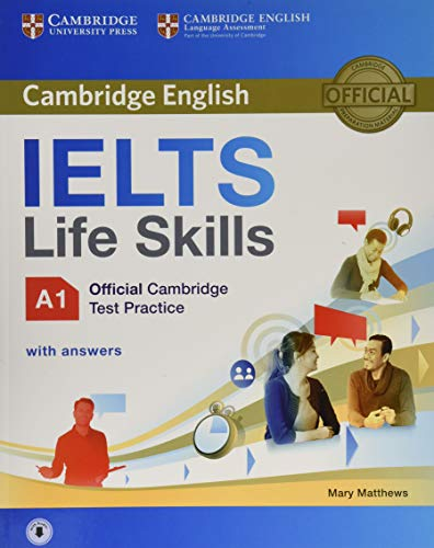 9781316507124: IELTS Life Skills Official Cambridge Test Practice A1 Student's Book with Answers and Audio (Official Cambridge Ielts Life)