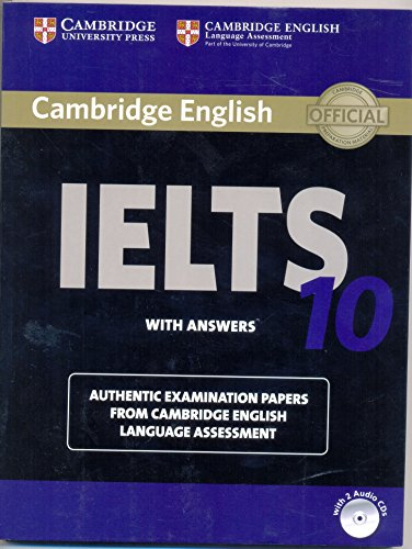 9781316509012: Cambridge Ielts 10 Students Book With Answers With Audio Cds (2) South Asia Edition