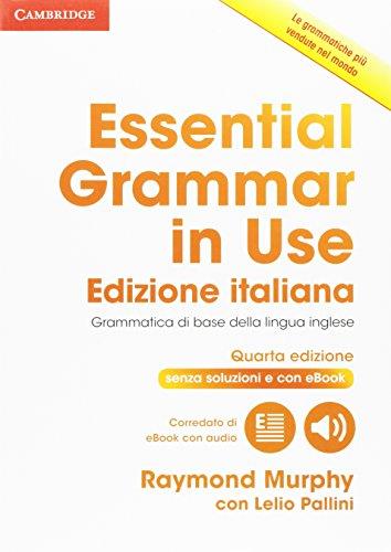 9781316509036: Essential grammar in use. Without answers. Per le Scuole superiori. Con e-book. Con espansione online