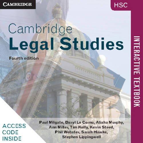Cambridge HSC Legal Studies 4ed Interactive Textbook: Paul Milgate; Daryl