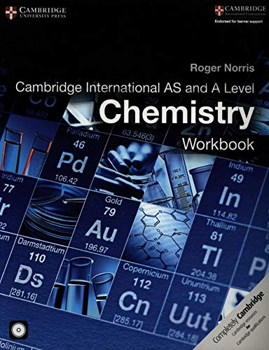 9781316600627: Cambridge International AS and A Level Chemistry Workbook with CD-ROM