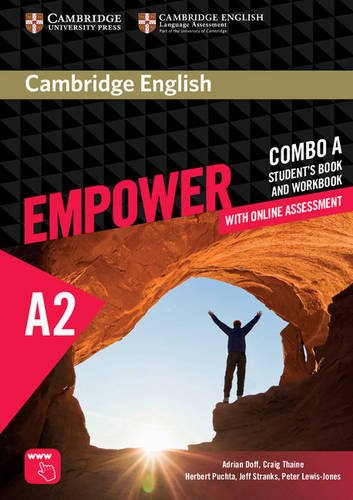 9781316601228: Cambridge English Empower. Level A2 Combo A with online assessment