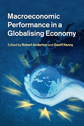 9781316601945: Macroeconomic Performance in a Globalising Economy