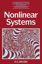 9781316607879: Nonlinear Systems
