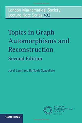 Topics in Graph Automorphisms and Reconstruction (Paperback): Josef Lauri, Raffaele
