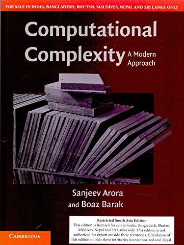 9781316612156: Computational Complexity A Modern Approach