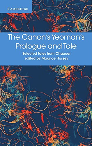 The Canon's Yeoman's Prologue and Tale (Selected Tales from Chaucer) (Paperback)
