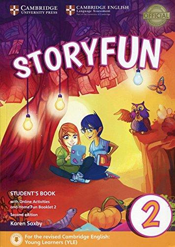 9781316617021: Storyfun for starters. Level 2. Student's book-Home fun booklet. Per la Scuola media. Con e-book. Con espansione online