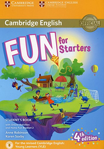 9781316617465: Fun for Starters Student's Book with Online Activities with Audio and Home Fun Booklet 2 [Lingua inglese]