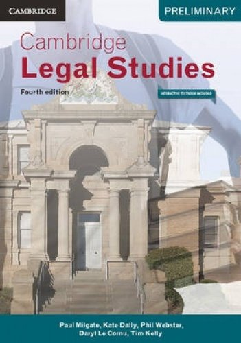 Cambridge Preliminary Legal Studies 4ed Pack (Textbook and Interactive Textbook): Paul Milgate